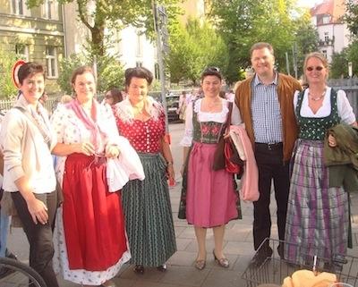 Treffen mit Freundinnen und Freunden vom RC Berlin-Lilienthal, RC Leipzig-Brühl und RC Zürich-Turicum